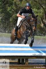 Successful eventing rider, Simon Tainsh rode , 'Punching A Dream' to second place in the International Animal Health CCI3*.