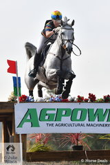 New mother and as always Olympian, Megan Jones looks the business cross country. The 2008 Beijing Team Silver Medallist is pictured aboard, 'RLE Barina' on their way to third place in the International Animal Health CCI3*.