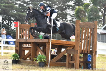 Talented rider, Andrew Cooper was one of just a handful of riders to finish on his dressage score in the International Animal Health CCI3*. He rode, 'Buchanan' to move from 19th after the dressage phase to fourth thanks to an impressive jumping performance.