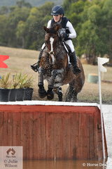 Successful Queensland rider, Madeline Wilson' rode her 'I'm Bruce' to fourth place in the the Pryde's CCI4*.