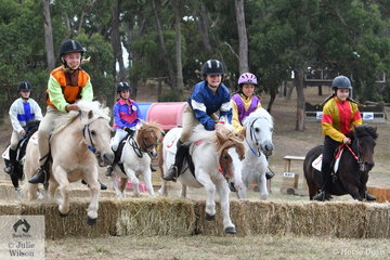 The Shetland Steeplechase has been a feature at the Wandin Horse Trials for many years and this year, sponsored by 7/Eleven it was conducted to the delight of the crowd immediately after the CCI 4* cross country. Many riding at Wandin this year got their start in this race.