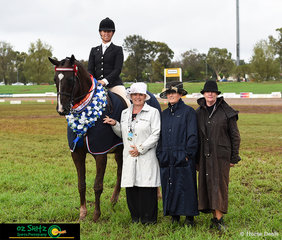 It was a great finish for Karen Shaw at the 2019 Toowoomba Royal Show as DP Polo won the Supreme Hack of Show.