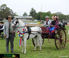 Winner of the Concours D'elegance Class on the first day of the 2019 Toowoomba Royal Show was Exhibit 15, Kar-trice Tamara driven by Graham Wass.