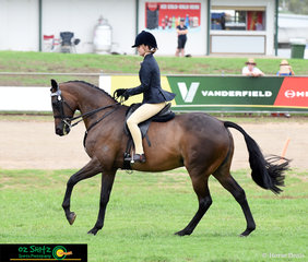 Competing in the Ridden Thoroughbred Mare class at the Toowoomba Royal Show is Shantaylah Lodge and Filly in the City.