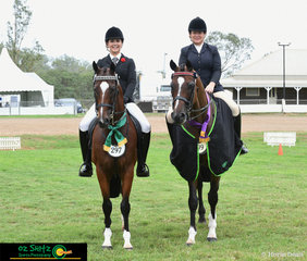 It was a great day for Megan Perrin and Geron as they take the Champion Ridden Thoroughbred title at the 2019 Toowoomba Royal Show with Startums Express owned by the Bullock Family taking out Reserve Champion.