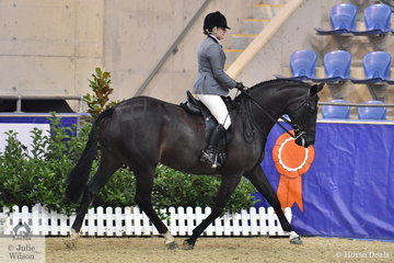 Nellie Zar from North Freemantle in WA made Top Ten in the Walfam Investments Small Show Hunter Hack Championship with her, 'Robali Symphony'.