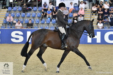 Phil Bobic rode Melissa Harding's, 'Danson Dakota' to claim the Sydney Solvents Grand National Large Show Hunter Championship. Later they went on to take out the Giddyup Girl Grand Champion  Show Hunter award.