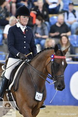 Di Firth rode the Ellis and Firth nomination, the successful, 'CP Renaissance' to make Top Ten in the SJM Equine Grand National Small Hack Championship.