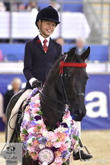 Millicent Quigley-Smith rode her own and Harry Beckel's nomination, 'Leanda Chances Are' to take out the Show Horse Council of Queensland Grand National Champion Child's Saddle Horse and on the final night of competition, they claimed the Bamborough Pony Stud Grand Champion Child's Saddle Horse award.