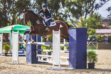 Well known eventer Tania Harding and her own Jirrama Easy Jet taking out the 110cm under 20 points championship. Tania consistently produces reliable and talented horses and Easy Jet is definitely yet another promising youngster from the Jirrama stables