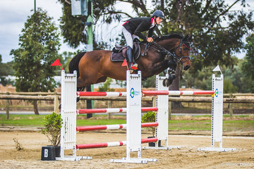 Young rider Jacob Wells and Cobra De Capella jumped beautifully in the Betty McVean Memorial Grand Prix to finish third. Yet another promising Cobra horse. This combination is really knocking on the door and it is only time before they're going to chalk up some significant victories