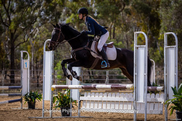 Taylah Bryant and Star Comic in the  Open 85cm