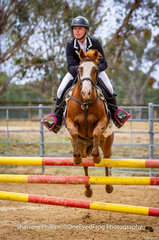 Amber Cavanagh and Xtra Special well pleased with their efforts placing 1st in the 75cm section C