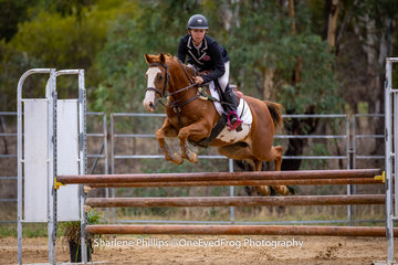 Amber Cavanagh and Xtra Special was the other successful champion pony for the meet in the rider 16yrs and under