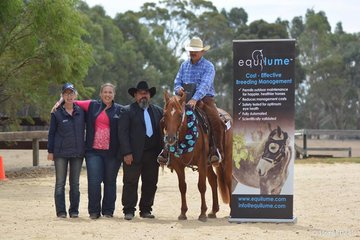 Equilume Open Winners Wayne Hinder and Reysn Hope owned by ELR Syndicate Photo Credit Michelle Hinder