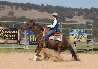 Kylie Milway and Cutta Whizz 2 Photo Credit Arreton Photography