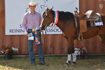 Thomas Arena Products Youth Champion Sam Reynolds and Lil Fancy Pep