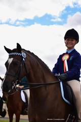 Champion Secondary School Rider, Brooke Kelly, Red Bend Catholic College, on the Smart Family's Euston Musician.
