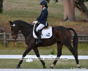"""Maddy Kitto in the CCN1*L riding """"My Friend Jack"""""""