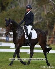 """Sophie Fox in the CCI2*S riding """"Isle Of Norfolk"""""""