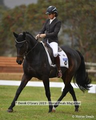 """Stacey Briggs in the CCI2*L riding """"Little Napoleon"""""""