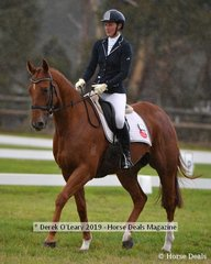 "Christina Grear in the CCI2*S riding ""Roger That"""