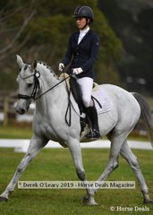 "Charlotte Sheldon in the CCI2*S riding ""Townshend LS"""