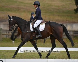 "Sophie Doake in the CCN1*L riding ""Heist"""