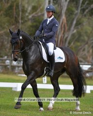"Andrew Cooper in the CCI2*S riding ""WG Orlando"""