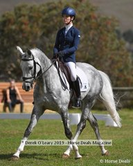"Erin Callahan in the CCI2*S riding ""Danson Lincoln"""