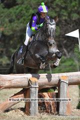"Jasmyn Beesley in the EVA95 Interschools riding ""WJ Beyond Great Heights"""