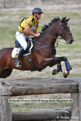 """Will Enxinger and """"Cairo Xreme"""" placed 3rd in the CCI2*S with a final score of 33.80"""