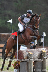 """Russell Artis rode """"Weissenburg"""" in the CCI2*S, placing 13th with a score of 44.50"""