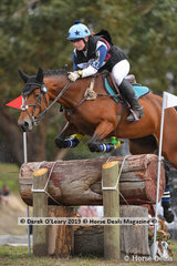 "Broiny Deeker-Fradd in the CCI2*S riding ""Ballahowe On Ice"""