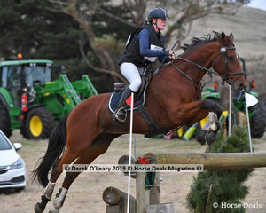 "Jasmone Dillon rode ""Vinchenzo"" in the CCI2*S"