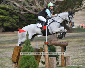 """Lily Wickenden placed 2nd in the CCI3*S riding """"Fuerst Sensation"""" with a final score of 59.80 picking up 25.6 time faults on cross Country"""