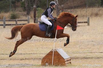 E Weir riding Immaculate