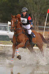 Nicely through the water, M Herzog and Tollunka Fox