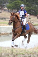 A Hanak riding Glenrose Dartagnan