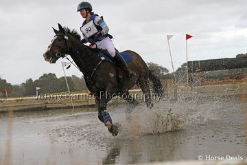 Making a splash, J Hill and ESB Irish Illusion