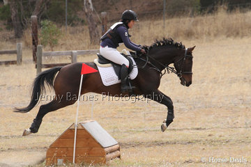 M Ichimura takes Wrangler around the cross country course