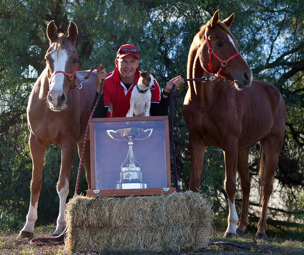 Matthew Sample, owner of Stirling's Crossing Equestrian Complex won the 2009 Tom Quilty along with brother Brook. His passion for the sport of endurance has seen him build Australia's first purpose-built endurance facility.