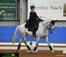 Bella Warner and Remi Royal Star competed in the Medium Freestyle representing Toorak College at the 2019 Victorian Interschool State Championships held at the Werribee Park National Equestrian Centre.