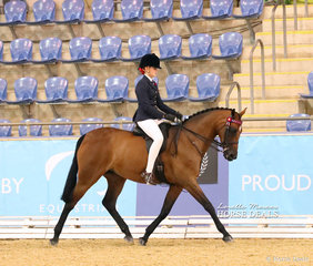 """Reserve Champions in The NATURES FARMACY Child's Open Small Hack event was Annabel Read and """"Clockwork""""."""
