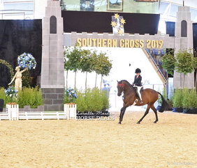 Claudia Hughes was The PARRAMATTA MOTOR GROUP Reserve Champion Rider 9 & under 12 years.