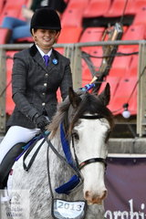 Emily Raymond took out the Ridden Clydesdale class with her, 'Dunesk Flash Gordon'.