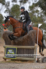 """Winner of the Open Class, Alex McDonough and """"Joie Du Lys"""" with a fnal score of 71"""