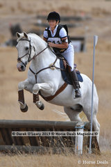 "Natalie Waters in the Open Grade 4.2 riding ""Arlo The Magnificent"""