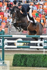 Today Tom McDermott jumped the only double clear to win the Sydney Royal Grand Prix riding his own, Jennie and Greg McDermott's imported Clinton mare, 'Elegance de a Charmille'. The mare was declared Best Performed Section 1 Horse and at just eight years old, she also took out the Julie Wilson Equestrian Photography prize for best Performed Young Jumping Hose of the Show.