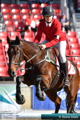 Jacqueline Coombes and 'Rainman' were members of the third placed Area 3 Jumping Team.